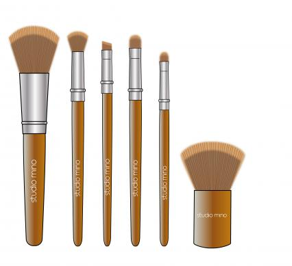 illustratie brushes studio mino - design Creamanie